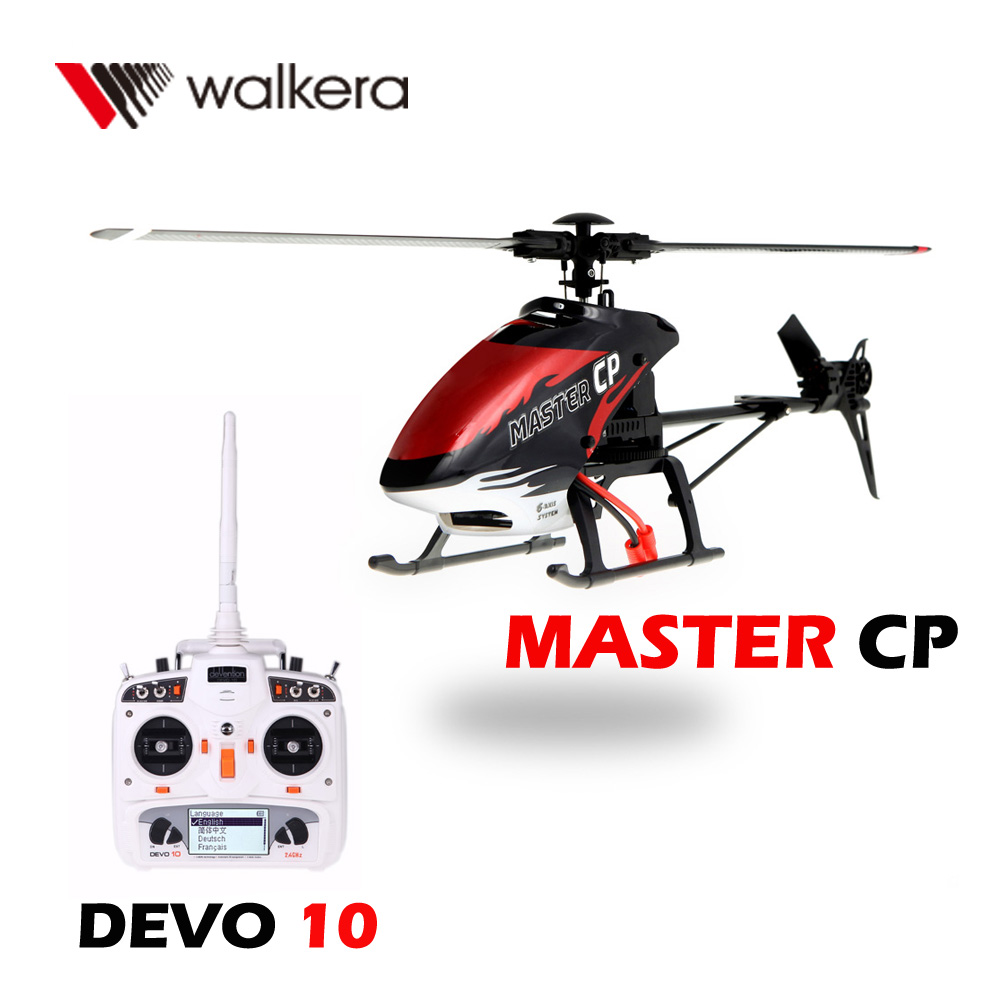 Walkera MASTER CP Flybarless 6-Axis Gyro 6CH RC Helicopter with White DEVO 10 Transmitter Model 2 Not included Battery Charger(China (Mainland))