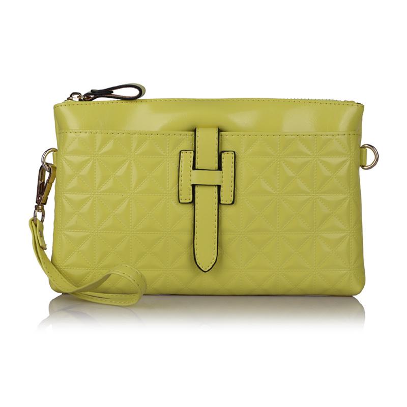 Wholesale 2015 Women Genuine cow Leather Purses And Handbags Designer Clutch Famous Brand Evening Shoulder Messenger Bag,YB1403