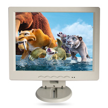 "10.4"" LCD monitor, Resolution 1400*1050, can be used as desktop Computer display, VGA+AV+TV+HDMI PORT WHITE, USED AS TV(China (Mainland))"