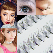 2015 Popular Black 8mm  10mm 12mm 60  Individual  False Eyelash Cluster Eye Lashes Extension Tray  For Make up
