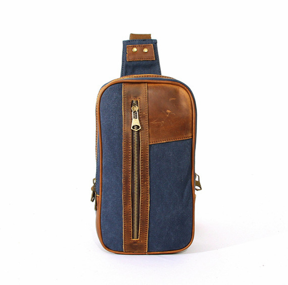 2015 Vintage Casual Men Messenger Bags Outdoor Travel Hiking Sport Chest Canvas Male Small Retro Bag - YONG BAG store