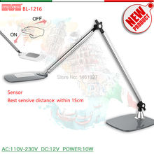 BL1216Gesture Sensor Switch, Color Temperature Stepless Dimming Desk lamp LED Desk Lamps office table lamp student reading lamps(Italy)