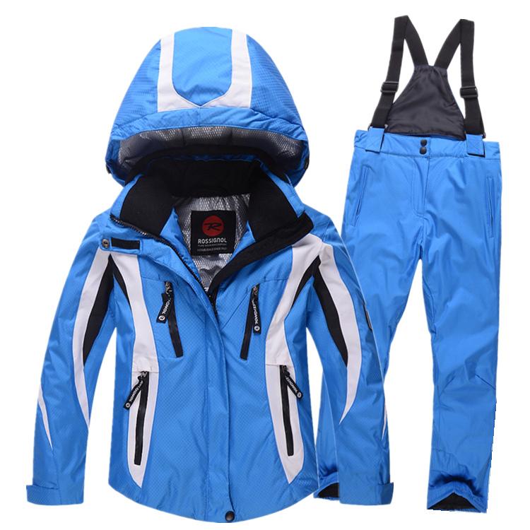 children winter ski clothing sets windproof waterproof hooded snow jackets + pants boys outdoor warm suit winter ski sets<br><br>Aliexpress