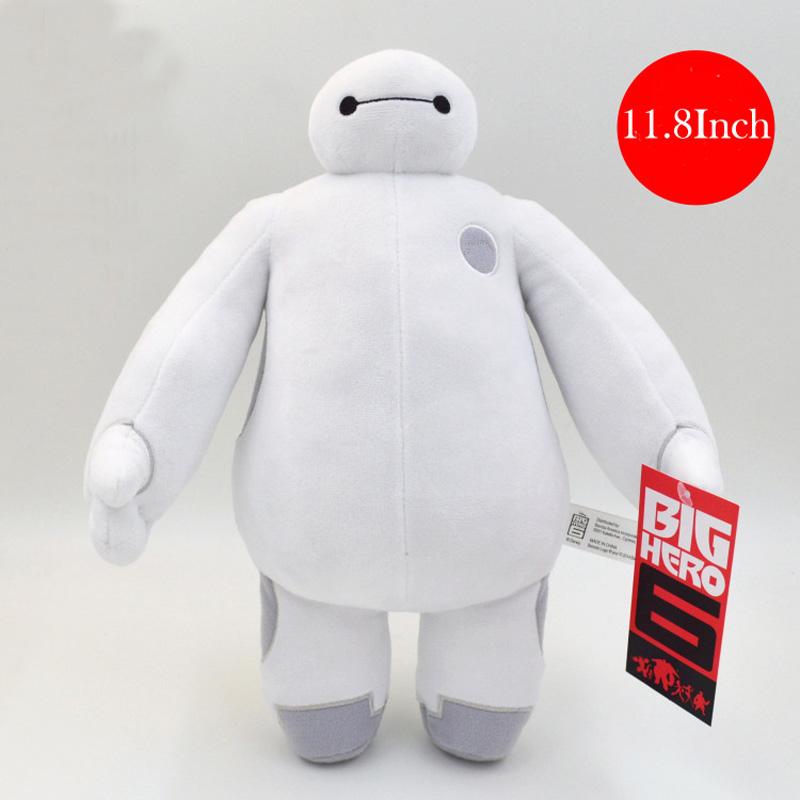 20pcs/lot 30cm 12 Big Hero 6 Baymax Robot High Quality Gift for Children Anime Plush Doll Stuffed Toys Birthday Gift Toys<br><br>Aliexpress