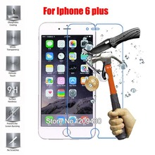 For Iphone 6 plus Screen Protector Tempered Glass Film For Iphone 6 plus Protective Toughened Glass Film