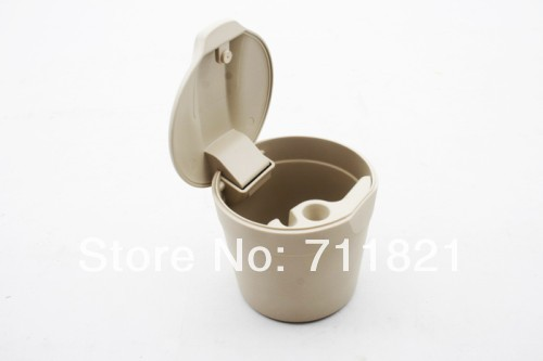Cup Holder Trash Bin Beige For Volkswagen For VW Polo 9N3(China (Mainland))