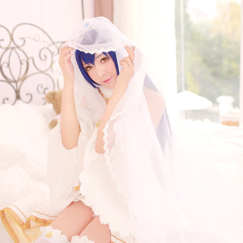 Coming soon! Mid-December! Love Live!Umi Sonoda wedding costumeОдежда и ак�е��уары<br><br><br>Aliexpress