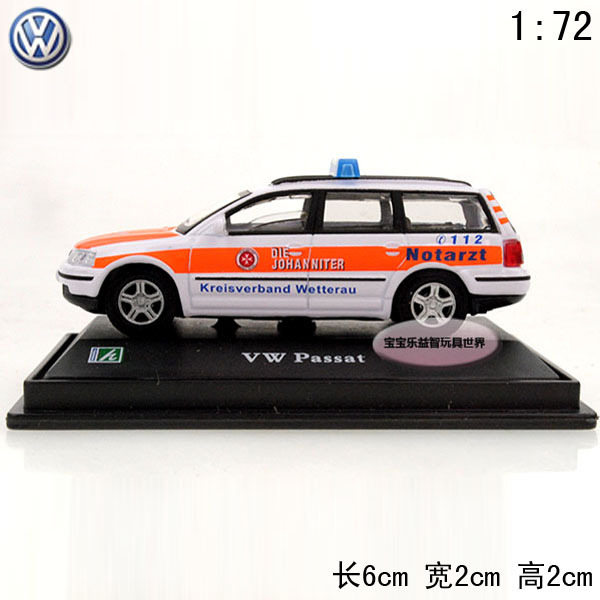 1:72 Volkswagen passat orange pocket-size baby alloy car model free air mail