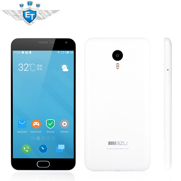 """Original 5.5"""" Meizu M2 Note 4G LTE Cell Phones Android 5.0 MTK6753 Octa Core 2GB ROM 16GB 32GB ROM FHD 1920x1080 13.0MP Camera(China (Mainland))"""