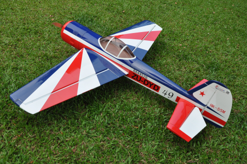 "YAK 55 30cc 74.8"" Gas RC Planes Remote Control Airplanes Flight Model 3D ARF(China (Mainland))"