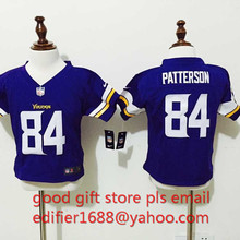 ,baby Minnesota Vikings toddler 5 Teddy Bridgewater 22 Harrison Smith 84 Cordarrelle Patterson Embroidery Logos,camouflage(China (Mainland))