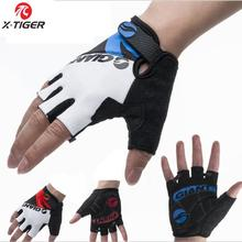 2014 Summer New GEL Bike Bicycle Half Finger Racing riding Cycling Gloves Outdoor Sports Super Seismic Gloves for men for women