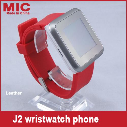 "2013 watch cellphone 1.3MP camera Quadband unlocked bluetooth 1.5""Touch Screen Portable Russian mini watch phone J2 P109(China (Mainland))"