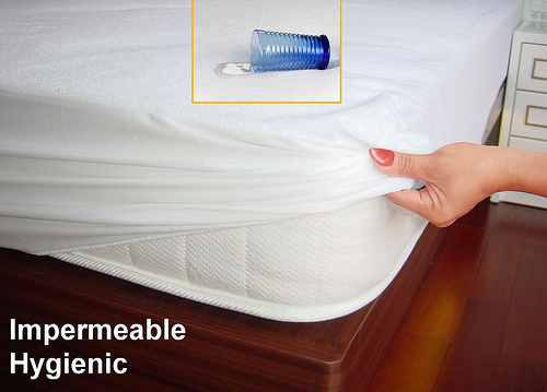 New Arrival Hot Selling Stock Brazil Size Full 137*191+30cm Waterproof Mattress Protector/Cover For Baby Mattress(China (Mainland))