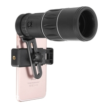 Buy 10x Zoom Lens 16x52 Hiking Concert Phone Camera Lens Telescope Monocular Clip Universal Samsung iPhone Smartphones for $11.04 in AliExpress store