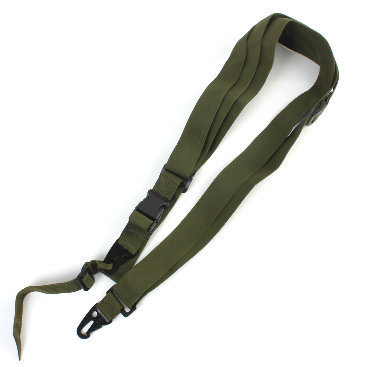 High quality Three Point Rifle Sling Adjustable Bungee Tactical Airsoft Gun Strap Paintball Gun Sling for