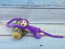 70cm monkey doll kids toy christmas gift valentine gift birthday gift one piece free shipping