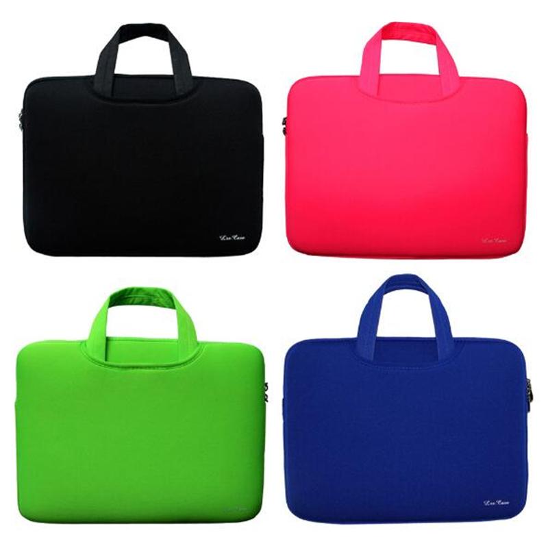 "Portable Ultrabook Handlebag Soft Sleeve Laptop Bag Computer Bag Smart Cover For 11"" 13"" 14""15"" Macbook Air Pro Retina"