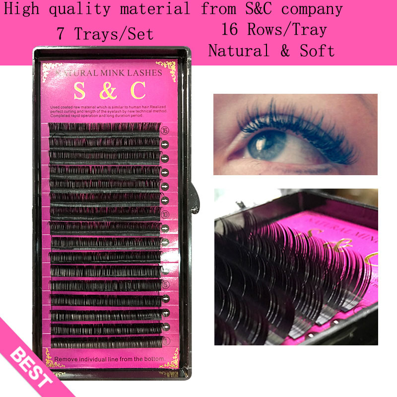 D curl ,0.15mmThickness ,8~14mm MIX ,4 cases set mink eyelash extension<br><br>Aliexpress