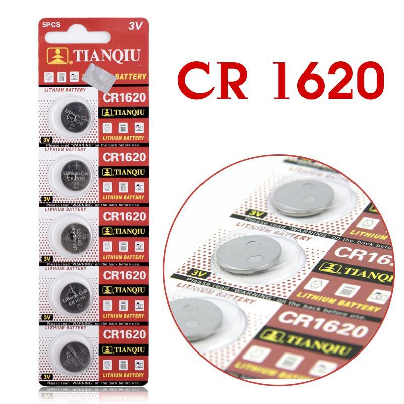 Гаджет  5pcs/Lot CR1620 1620 ECR1620 DL1620 280-208 3V Cell Battery Button Battery ,Coin Battery lithium battery For Watches,clocks None Электротехническое оборудование и материалы