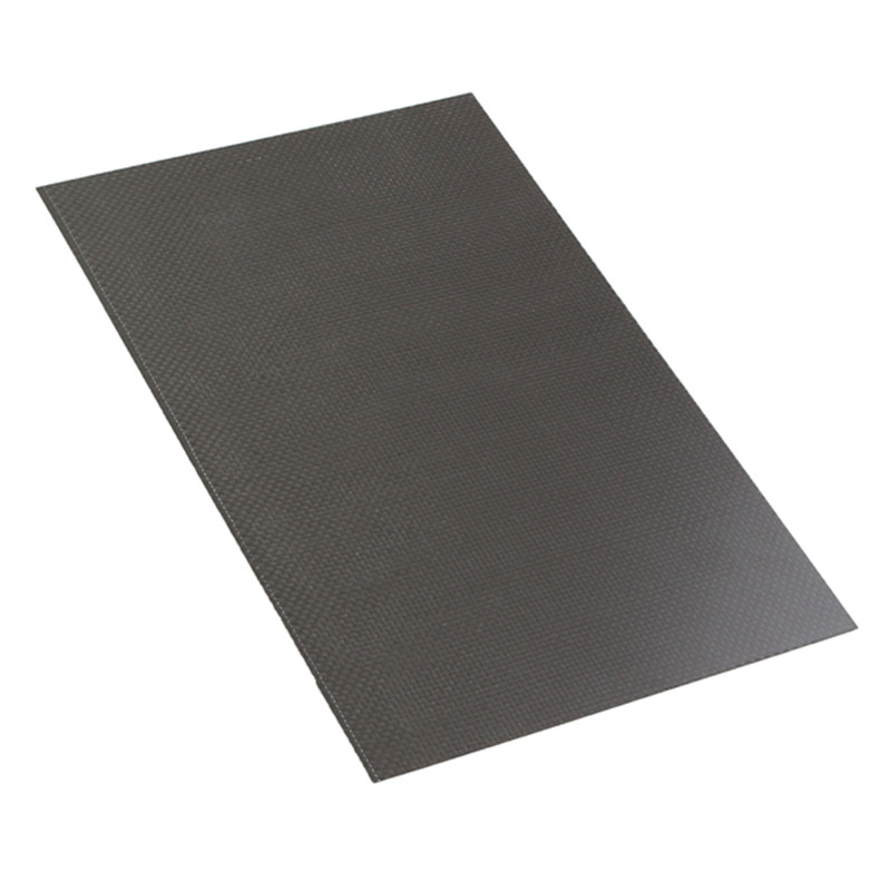 Hot Sale Hot New 3K 200mm x 300mm x 0.5mm Plain Weave Carbon Fiber Plate Panel Sheet For RC Parts(China (Mainland))