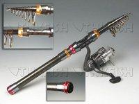 Promotion! 1Pcs 300CM Protable telescope Mini Pen Fishing Rod Rods Spinning Fishing Rod Pole