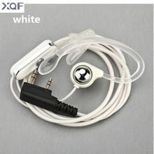 Earpiece Ear Hanging PTT Earphone For BAOFENG UV-5R 888S B5 B6 two way radio For KENWOOD Walkie Talkie(China (Mainland))