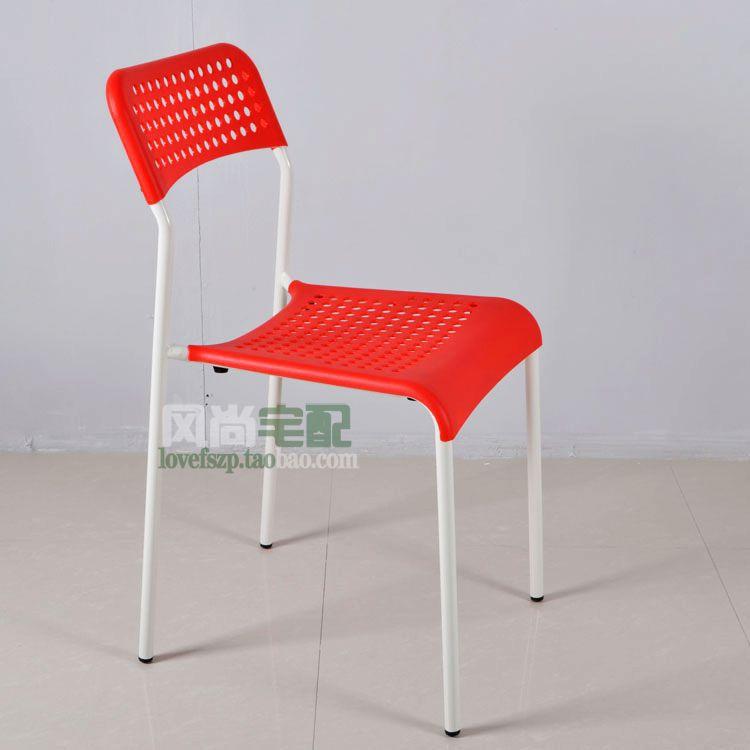Cheap new fashion minimalist modern plastic chair at home for Cheap modern furniture adelaide