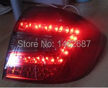 Free shiping ! 12V 6000k LED Rear light for Toyota Highlander 2009-2011 taillight lamps auto light brake light LED lights
