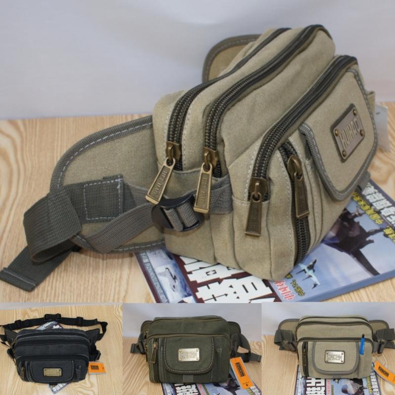 2016 Sale Bolsos Bolsas Handbags Bolsa Handbag Casual Canvas Waist Pack Mens Clothing Chest Wallet Multifunctional Outdoor Bags <br><br>Aliexpress