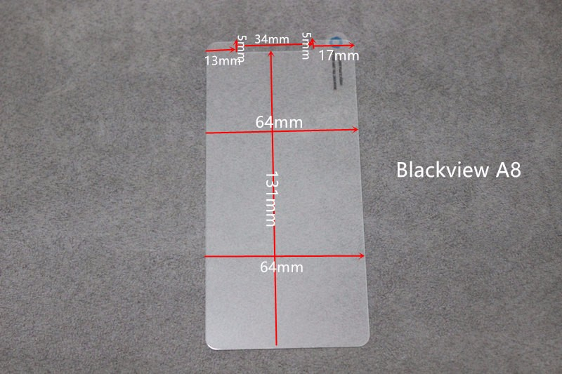 Blackview A8 Tempered Glass Film Explosion Proof Screen Protector For Blackview A8