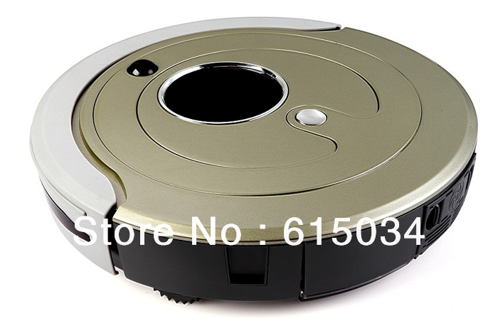 Advanced Good Robot Vacuum Cleaner,Multifunction (Sweep,Vacuum,Mop,Sterilize),Schedule,2 Side Brush,Self Recharge(China (Mainland))