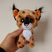 Buy A toy A dream Ty Beanie Boos Tabitha the Cat 15cm Big Eyes Plush Toy Doll Purple Panda Baby Kids Gift for $4.74 in AliExpress store