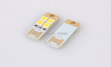 Mini USB small night light 4 led laptop desk lamp keyboard partner mobile power supply(China (Mainland))