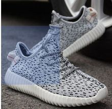 Top Quality 2015 new shoes Men Women Sneakers Casual Breathable Shoes Yeezy 350 Boost  Fashion Sneakers Sports Running Shoes(China (Mainland))