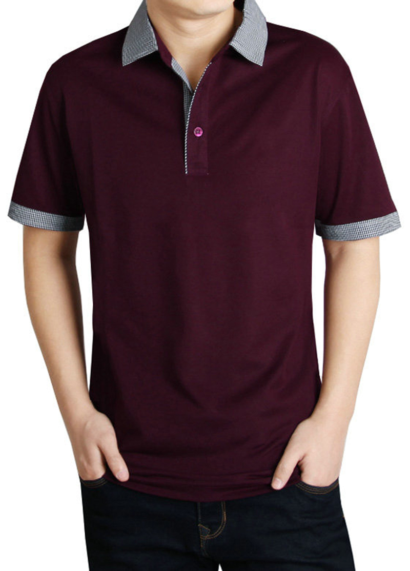 Export men s clothing men polo shirts short sleeve brand for Men s polyester polo shirts