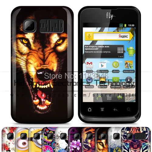 New arrievd flowers tiger pattern soft TPU cellphone case cover for Fly IQ238 phone bag with free shipping(China (Mainland))