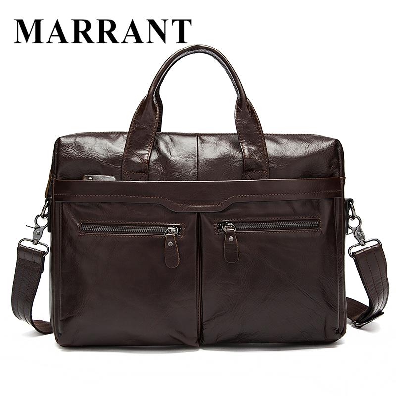 100% Genuine Leather Men bag Casual Handbag crossbody men's Messenger Bag Laptop business men's travel bags Briefcase #7122A(China (Mainland))