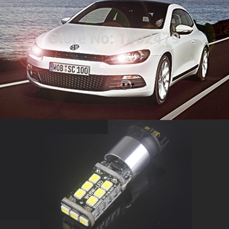 2 x pw24w led daytime running light drl replacement bulb for vw golf mk7 golf7 golf vii 2013 up. Black Bedroom Furniture Sets. Home Design Ideas