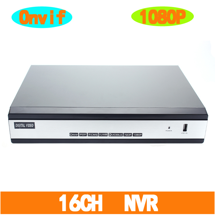 ONVIF H.264 Full-HD 1080P 16CH NVR HDMI VGA RCA Video Output Support WIFI PTZ 3G Phone View(China (Mainland))