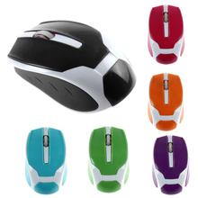 Best Price 2.4G 1200DPI Candy Color Optical Mini Wireless Mouse Mice For Laptop PC(China (Mainland))
