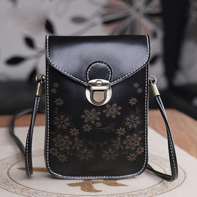 2015 New Fashion Design Womens Bags Vintage Women Messenger Bags, Floral Crossbody for Ladies Shoulder bags PU Bolsa Feminine<br><br>Aliexpress