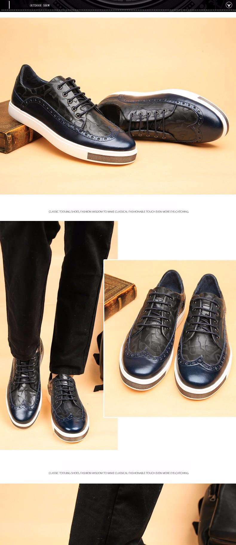 Г-н Мир Новая Мода Англия Стиль Натуральная Кожа Мужчины Обувь, 2016 Весна Кожа Мужчины Обувь, высокое Качество Обувь Для Мужчин
