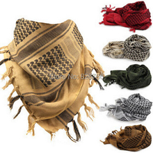 Men Winter Military Windproof Scarf Muslim Hijab Shemagh Tactical Desert Arabic Keffiyeh Scarf 100% Cotton Thickened Women Scarf