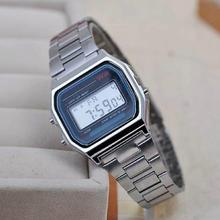 2015 Hot Sale Led cassio Casual Women Dress Watch Couple Watches Men Full Stainless Digital sports