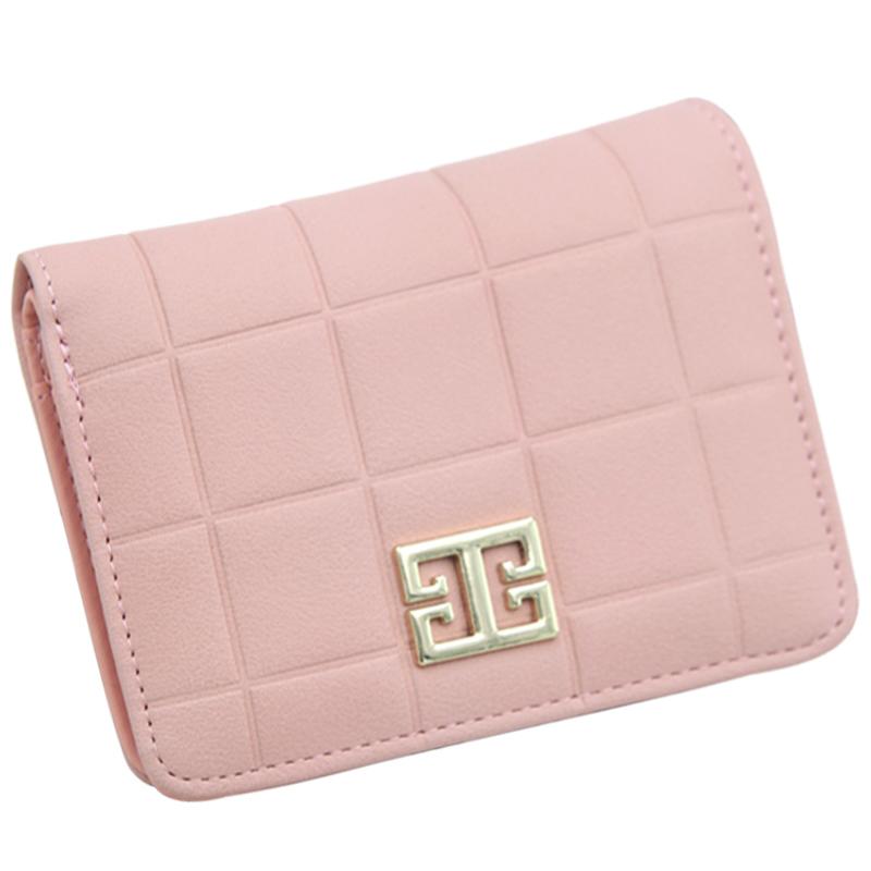 2017 Brand New Wholesale Wallet Women Pocket Carteira Feminina De Marca Famosa High Quality Wallet Pink Wallet Supplier moneder(China (Mainland))