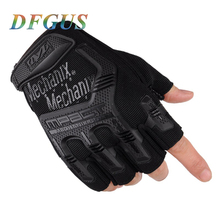 Buy Outdoor Army Gloves Black Military Tactical Gloves Half Finger Gloves Slip Resistant Gloves Climbing Gym Workout for $5.51 in AliExpress store