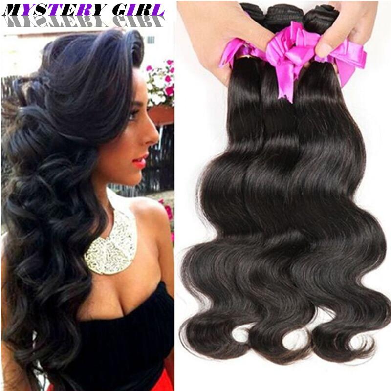 8A Brazilian Virgin Hair Body Wave 3 Bundles Brazilian Hair Weave Bundles Mink Brazilian Hair Bundle Deals Tissage Bresilienne(China (Mainland))
