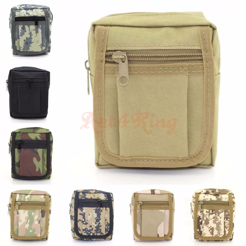 Daily Carry Tactical Waist Pack Military Waist Bag Army Molle Pouch Utility Mess Sundries Bag Outdoor Sports Gear Pouch(China (Mainland))