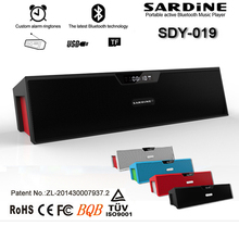 SDY-019 Big power Portable Wireless Bluetooth Speaker 10W Stereo audio sound with microphone built in 1200mAh Battery(China (Mainland))